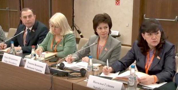 На международном семинаре «Стамбульская конвенция как инструмент для разработки комплекса мер по предотвращению насилия в отношении женщин на национальном уровне»