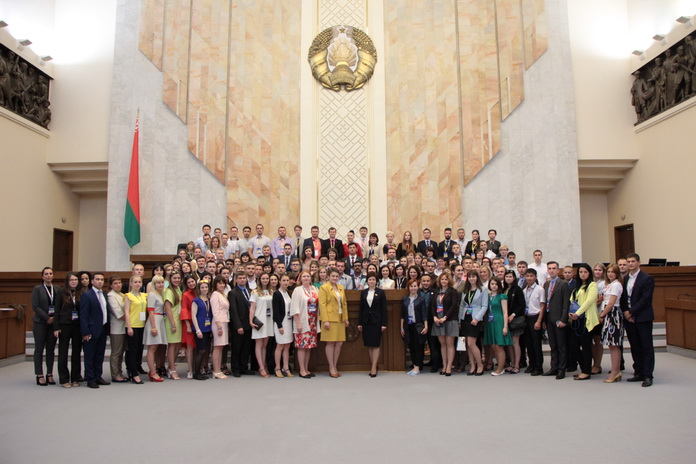 Участие в международном молодежном профсоюзном образовательном форуме «ТЕМП-2017. Трудом Едина Молодежь Профсоюзов»